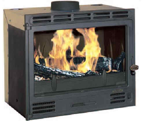 Godin 3268 Woodburning Fireplace Insert