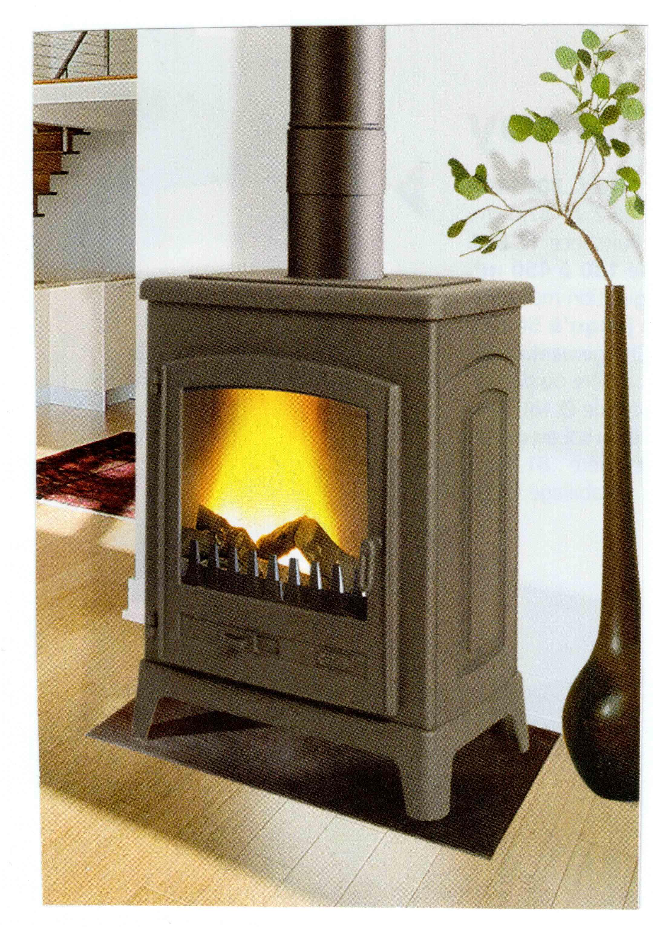 Godin 389144 Le Fontemont Woodburning Fireplace