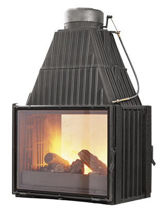 Godin 660143 woodburning insert for Double sided fireplace price