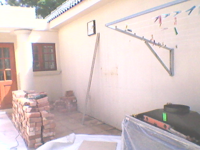 Site before installation