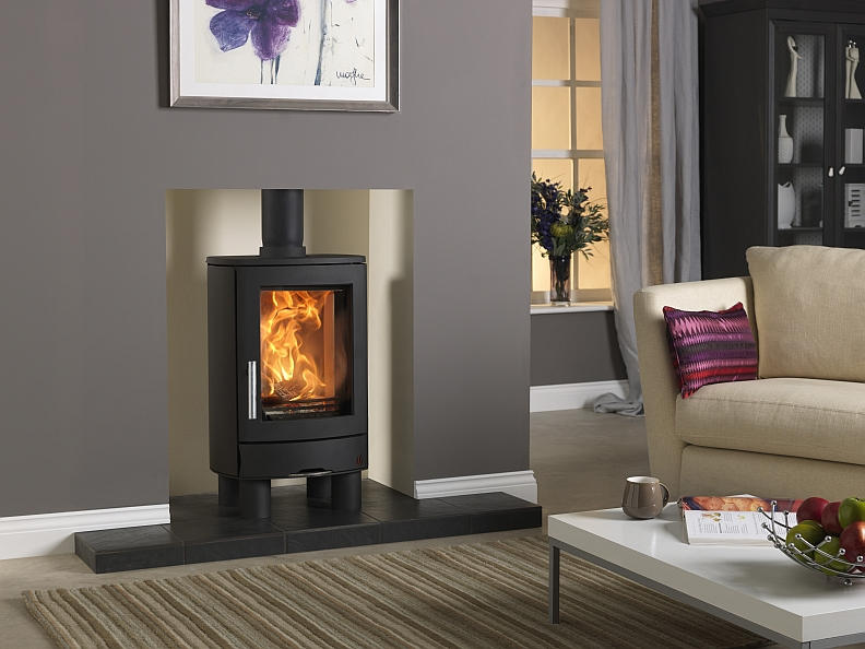 Acr Neo 1f 3f Wood Burning Fireplace