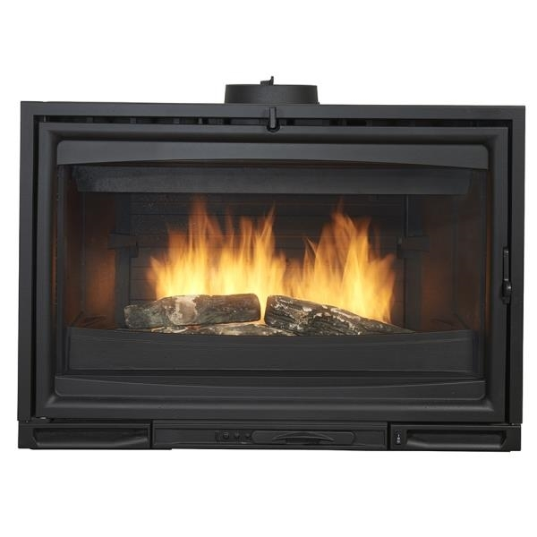 godin visi 65f fireplace insert 660166. Black Bedroom Furniture Sets. Home Design Ideas